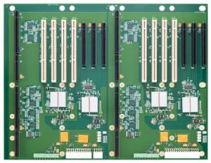 BP2S6929 Two Segment PCI Express Backplane
