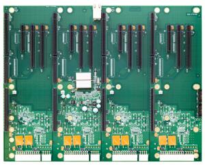 BP4FS6890 Four Segment PCI Express Backplane