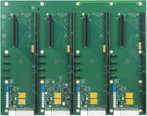 The HDB8237 HDEC Series Four Segment Backplane