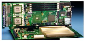 NLT PICMG 1.3 System Host Board